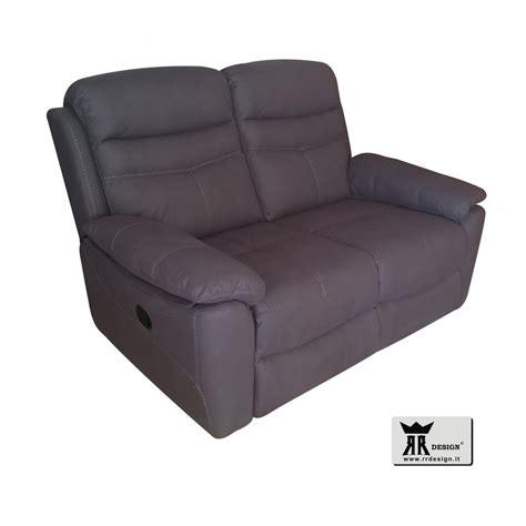 Divano Relax Elettrico - divano relax motorizzato reclinabile tessuto della linea