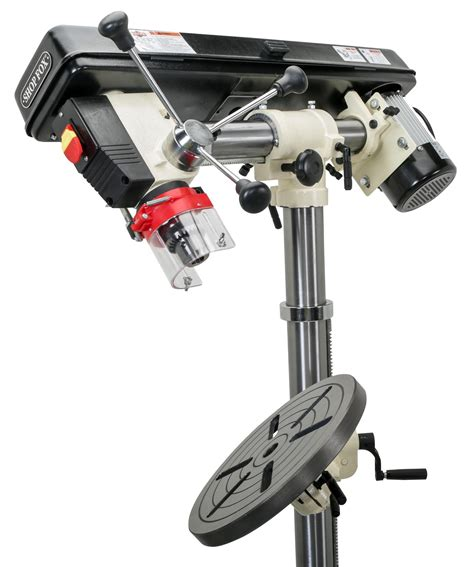 Floor Standing Radial Drill Press by Shop Fox W1670 1 2 Horsepower Floor Radial Drill Press