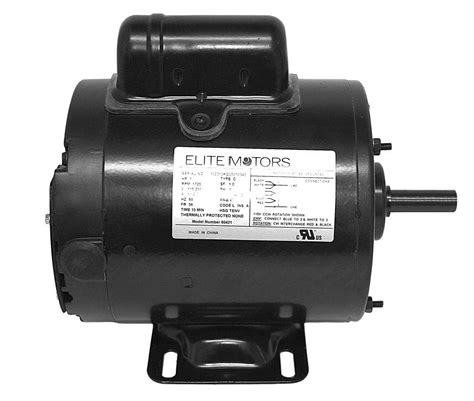bh usa elite painted boat lift motor 3 4 hp 816146021034