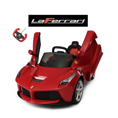 ride on car laferrari remote control ride on car with vertical doors