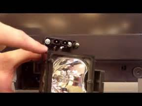 Sony Wega L Replacement Troubleshooting by Sony Sxrd Rear Projection Tv Repair How To Replace A L