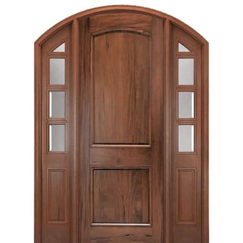 Mai Doors A798ercu Prehung Andean Walnut Eyebrow Top 2