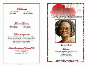 obituary template obituary program example With death program templates