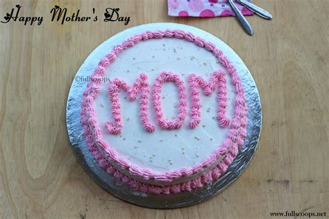 So this mother's day, turn the tables and present her with one of our best cake recipes. Mother's Day Cake ~ Full Scoops - A food blog with easy,simple & tasty recipes!