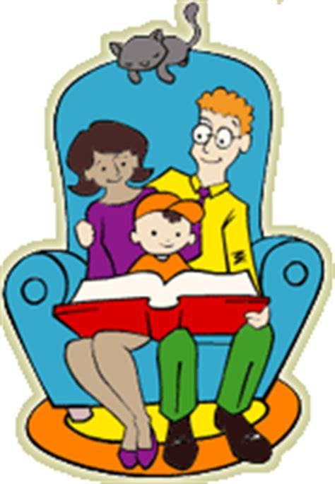 family reading together clipart virginia stevenson pto family reading tonight
