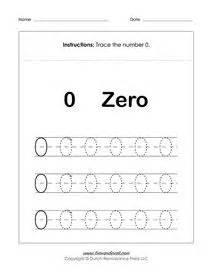 number tracing worksheets math printables