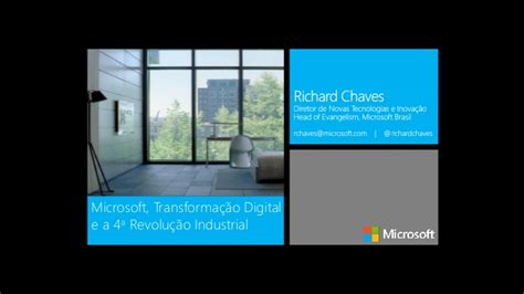microsoft digital transformation and the 4th industrial revolution