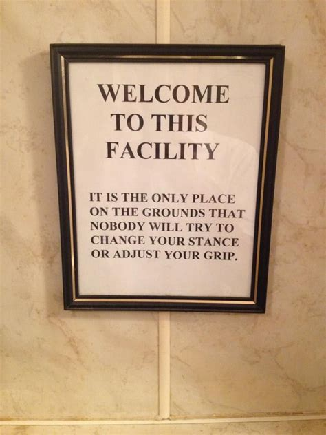 urinal   local golf  jerry funny