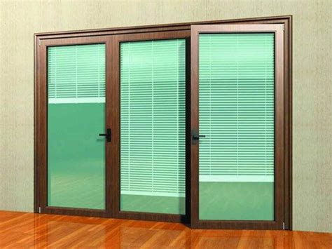 sliding doors lowes reliabilt  lite frosted glass