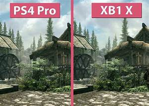 Skyrim 4K Xbox One X 15 Minutes Of Gameplay Xbox Project