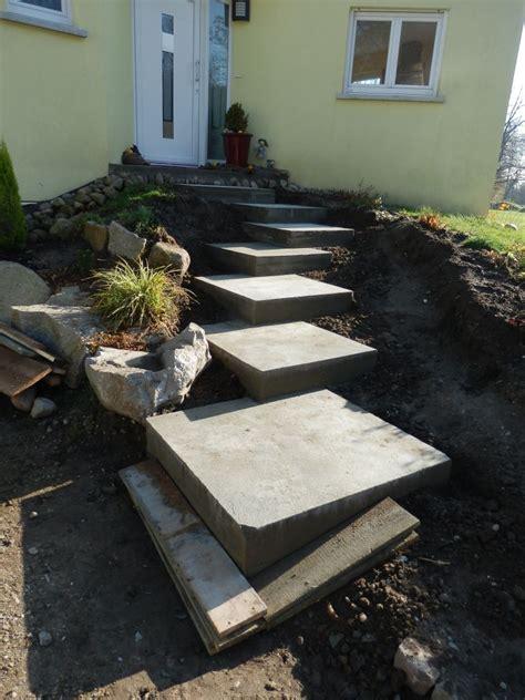 faire un escalier exterieur en beton que mettre sur les marches b 233 ton de l escalier ext 233 rieur