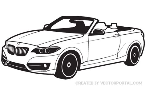 ferrari logo black and white vector bmw car vector image download free vector art free vectors