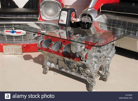 engine coffee table tables block blocks petrolhead car
