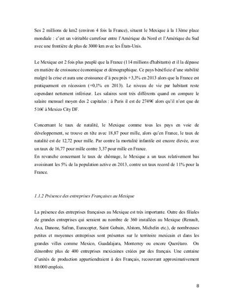 Chambre De Commerce Franco Mexicaine Memoire Management Interculturel Mexique