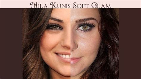 Mila Kunis Soft Glam · How To Create A Natural Eye Makeup