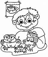 Frog Coloring Frogs Printable Printables Printactivities Boy Birthday Coloring2print sketch template