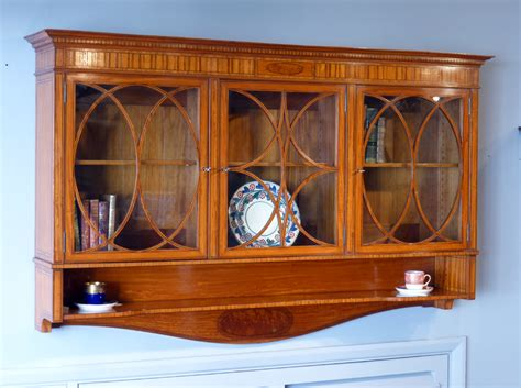 Antique Display Cabinet, Wall Hanging Cabinet. Antique