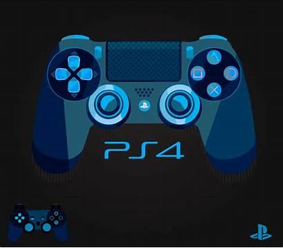 Controller Ps4 Vector Packaging Playstation Vectors Drawing