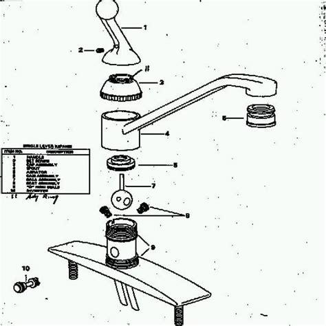Delta Kitchen Sink Faucet Parts by Delta Kitchen Faucet Parts Breakdown Dandk Organizer