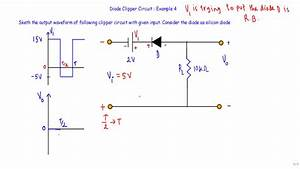 Diode Clipper Circuit   Example 4