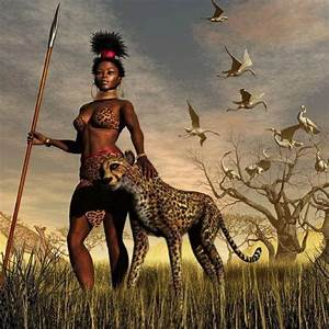 African Warrior Princess A strong, smart wildcat. #wildcat ...