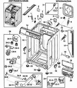 Samsung Washing Machine Parts Diagram