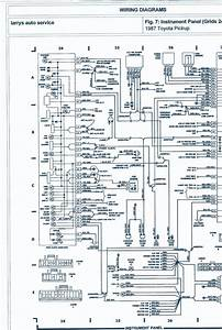 1990 Toyota Wiring Harness Diagram