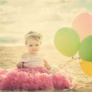 22 Fun Ideas For Your Baby Girl's First Birthday Photo Shoot