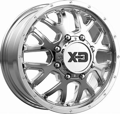 Dually Wheels Xd843 Grenade Chrome 8x210 Xd