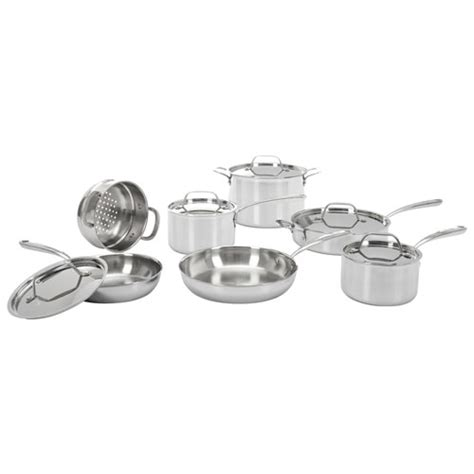 lagostina cookware canada stainless sets steel clad casa ply triple