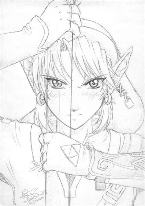 princess zelda drawing zelda twilight princess