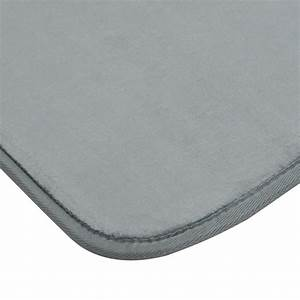tapis velours 50x80cm gris fonce With tapis velours gris