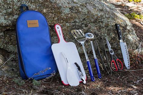 camping utensils utensil cooking kitchen sets cook piece