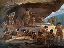akg-images - Cave life in the Palaeolithic period