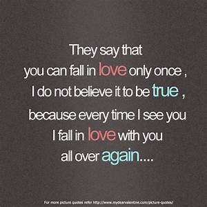 Falling In Love With You Quotes. QuotesGram