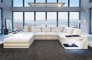 Couch Mit Beleuchtung : ledersofa carezza xl bei nativo m bel oesterreich ~ Frokenaadalensverden.com Haus und Dekorationen