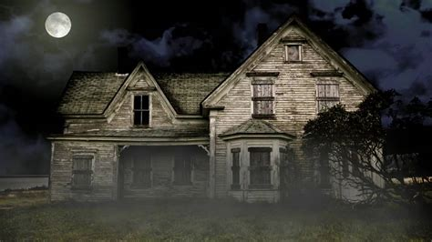 Background Haunted House by Free Haunted House Background