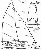 Coloring Pages Sailing Beach Happy Printable Yacht Vacation Physics Related Getcolorings Adults Template Posts sketch template