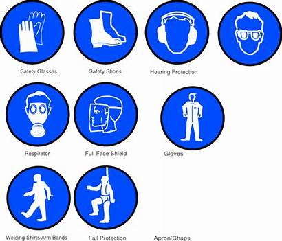 Ppe Symbols Clip Clipart Gear Safety Protective