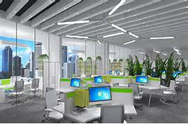 Open Office Layout Design by Modern Open Office Furniture Layout