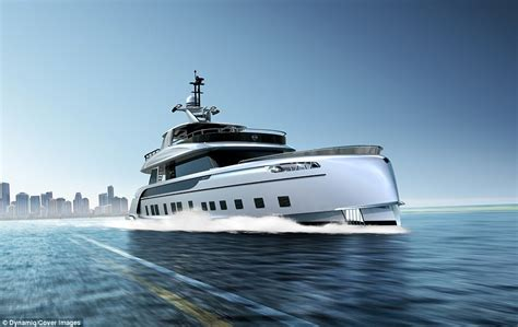 Porsche Boat by Thirty Five Metre Yacht Styled By Porsche Costs 163 10m
