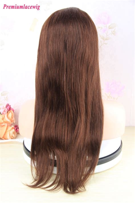brazilian straight hair  lace frontal wigs