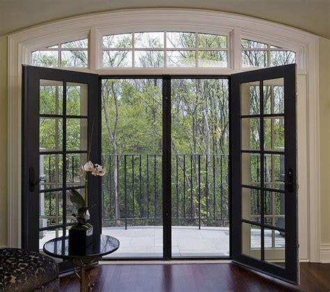 black patio doors black sliding glass patio doors kitchen dining 1541