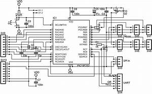 servo controller circuit electronic circuit diagram and With servo controller 1