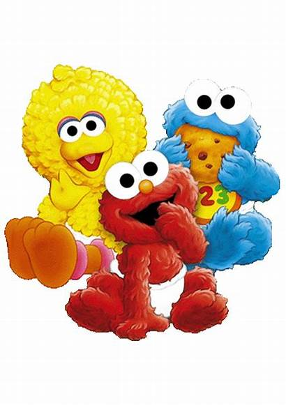 Sesame Street Characters Birthday Invitation Colors Party