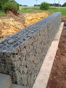 Mur De Soutenement En Gabion : gabions pour murs de sout nement palettes vendu par ~ Melissatoandfro.com Idées de Décoration