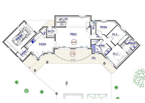 modele exposition cuisine villa plan de maison provence construction de