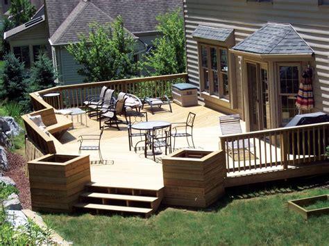 Backyard Deck Plans - gallery of 35 best deck designs pictures interior design