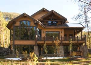Top Photos Ideas For Mountain Style Home Plans by Mountain Home Exteriors Traditional Exterior Other