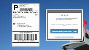 how to send a return shipping label With create prepaid shipping label